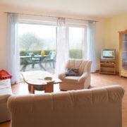 Ferienwohnungen 3-6 Wohnzimmer