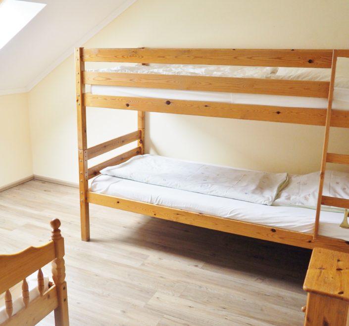 Wohnung 5 Schlafzimmer mit Etagen- und Einzelbett