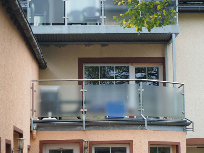 Balkon der Ferienwohnung Gredi im Haupthaus