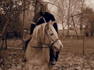 St. Martin auf dem Pferd für das Angebotswochenende