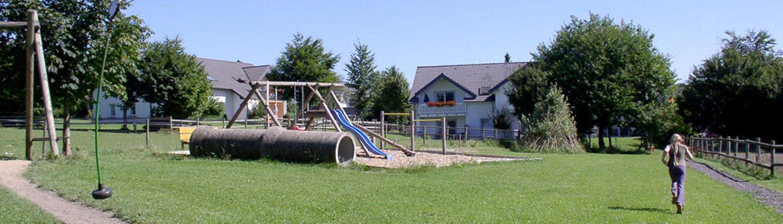 Seilbahn auf dem Ferienhof Feinen