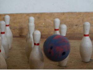 Bowling für Kinder in der Spielscheune
