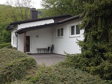 Aussenansicht Haus am See in Biersdorf bei Bitburg