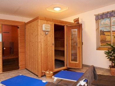 Saunabereich mit Ruhezone