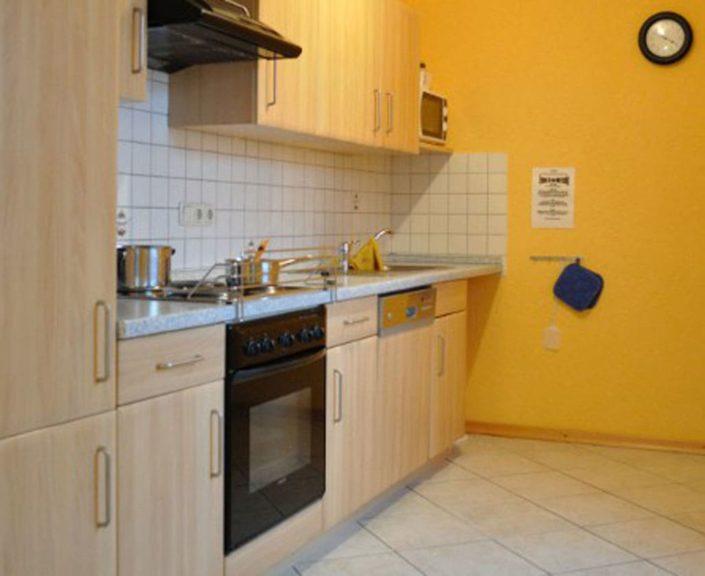 Küchenzeile der Wohnungen 9-12