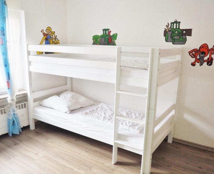 Stockbett im Kinderzimmer Haus Wiesengrund