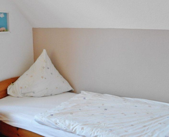 Einzelzimmer mit einem Bett Wohnung 8
