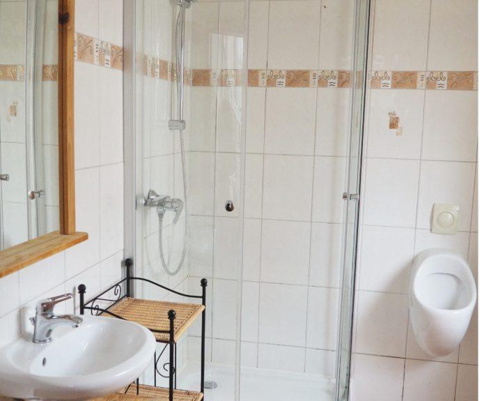 Gäste WC mit Dusche Haus Wiesengrund