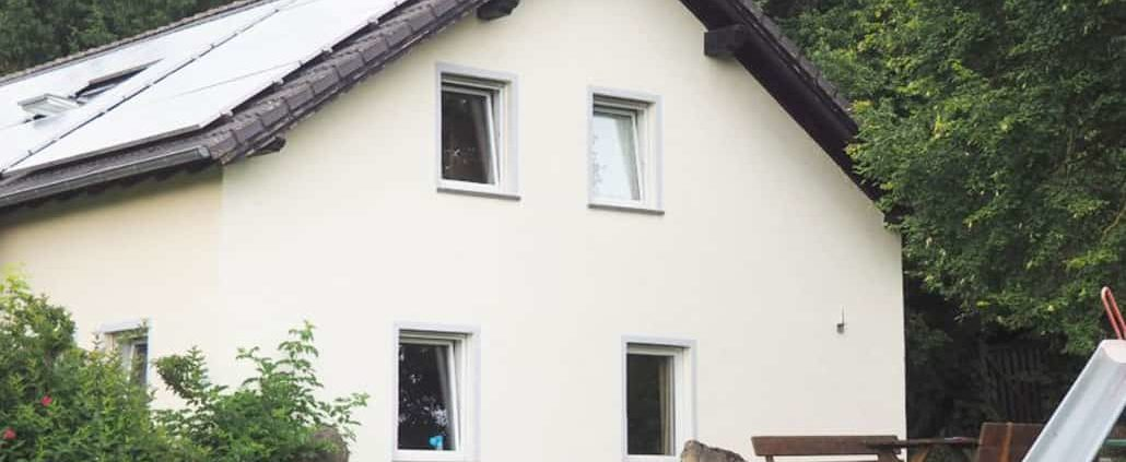 Seitenansicht Haus 1