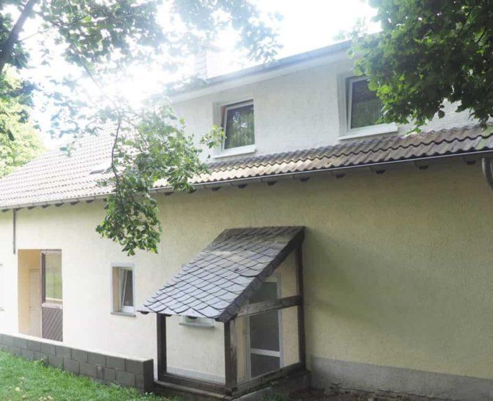 Eingang Haus 1 und Haus 2