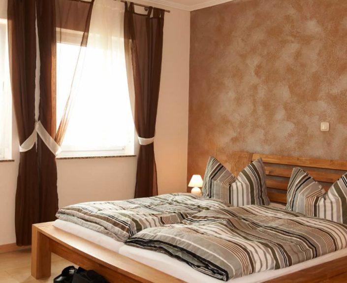 Schlafzimmer Ferienwohnungen Hedwig und Hubert