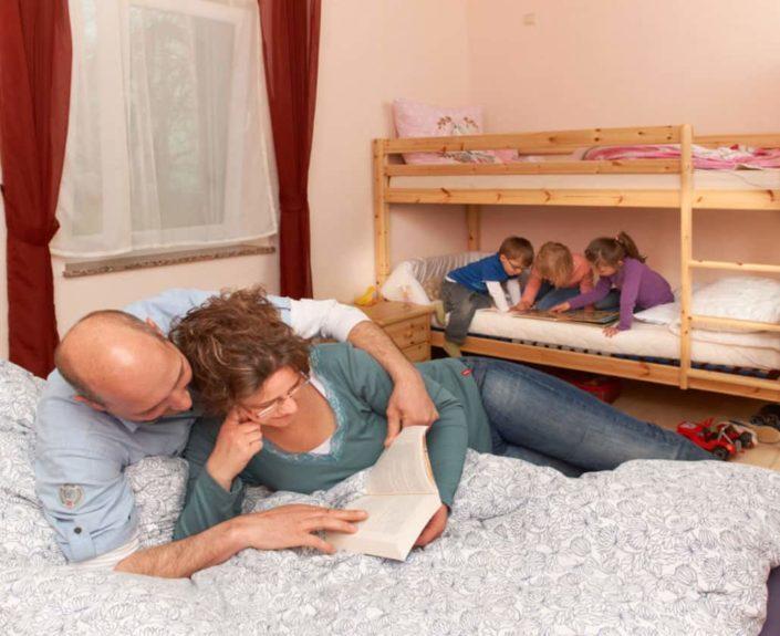 Kinderzimmer der Ferienwohnungen Hedwig und Hubert