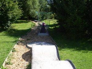 Minigolfplatz im Park