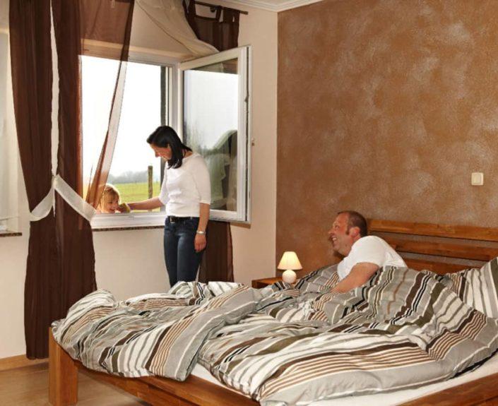Doppelzimmer der Ferienwohnungen Hedwig und Hubert