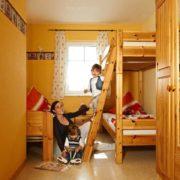 Kinderzimmer der Ferienwohnung 9-12
