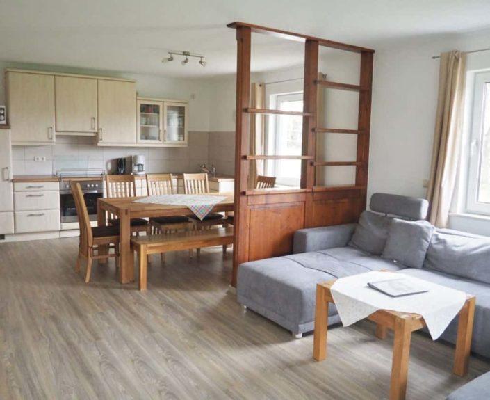 Wohn-Essbereich mit Küche Ferienhaus 1