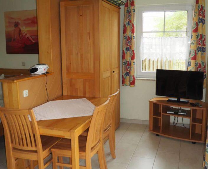 Essbereich im Appartement 13