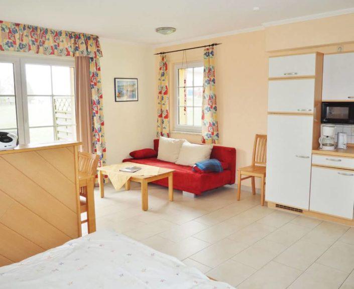 Wohnbereich Appartement 13
