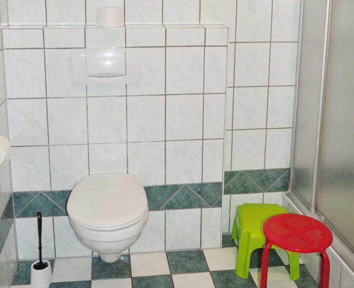 WC im Appartement 14