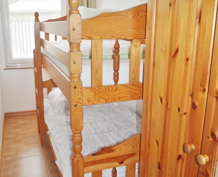Kinderzimmer mit Hochbett Ferienwohnung 15