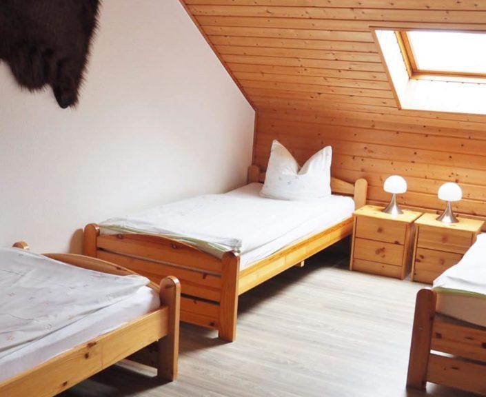 Ferienhaus 2 Dreibettzimmer