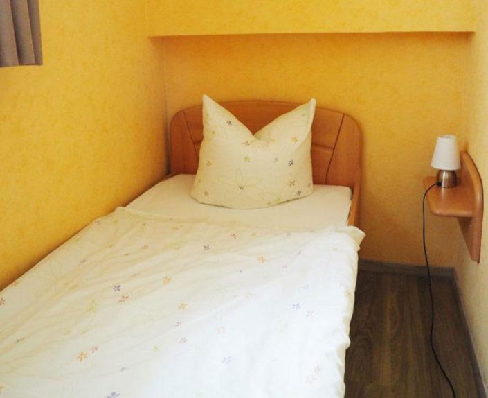 Einzelzimmer mit Einzelbett Ferienhaus 2