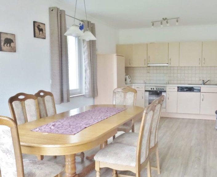 Wohn-Essbereich mit Küche Ferienhaus 2