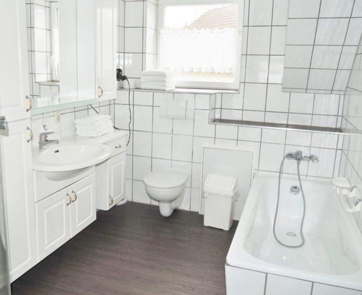 Badezimmer der Ferienwohnung 7