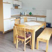Wohn-Essbereich in der Wohnung 7