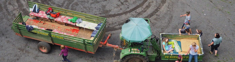 Traktorfahrt zum Eifelblick